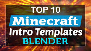 minecraft intro template download archives topfreeintro com