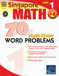 amazon com 70 must know word problems grades 1 2 singapore