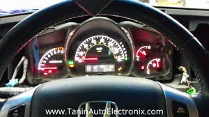 2006 2007 2008 honda ridgeline speedometer odometer flashing lcd
