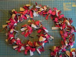 d i y christmas garland do it yourself projects lonny