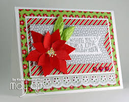handmade christmas cards a handmade christmas card hop winners may arts wholesale