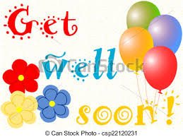 get well soon and balloons get well soon balloons and flowers get well soon wishes drawings