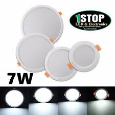 supertech led magic ball light instructions 7w round led recessed ceiling panel down light pure white with driv