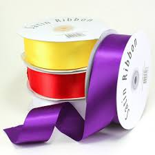 ribbon spool maple craft satin ribbons 1 5 spool of 50 yards gift