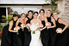 Pink And Black Bridesmaid Dresses Black Bridesmaid Dresses Google Search Bridesmaids Pinterest