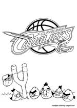 new york knicks coloring pages cleveland cavaliers nba coloring pages