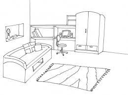 coloriage de chambre de fille dessin de chambre d enfant gascity for