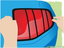 blacked out tail lights legal how to tint tail lights with pictures wikihow
