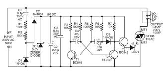 schematic u0026 wiring diagram 220v ac operated christmas light star