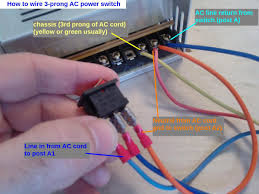 how to wire a 3 prong power switch assembly reprap wilson 3d