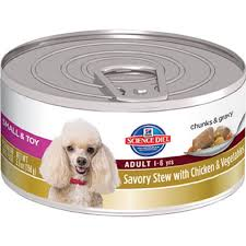hill u0027s science diet small breed savory stew canned dog food