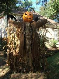 Buy Outdoor Halloween Decorations by Scary Pumpkin Scarecrow 2015 Halloween Decorations Outdoor