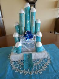 elsa toilet paper roll castle craft
