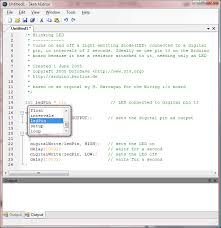 net based arduino sketch editor