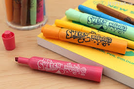 mr sketch scented washable markers ice cream stix 6 color