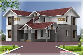 4 bedroom sloping roof house elevation home appliance