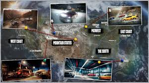 Gta World Map The Crew U0027s Open World Is Bigger Than Gta V Red Dead Forza