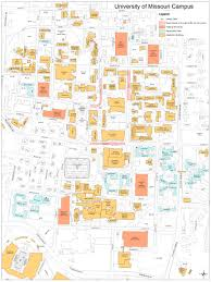 Columbia Missouri Map Maps For Family Weekend Office Of Parent Relations University
