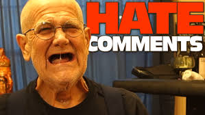 angry grandpa reads comments youtube