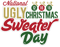 national ugly christmas sweater day north delawhere happening
