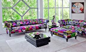 Fabric Chesterfield Sofa Uk by Alhambra 4 Seater Patchwork Sofa Be Fabulous