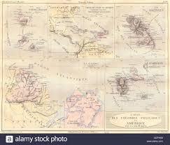 map of st and miquelon martinique st miquelon guadeloupe 1884 antique map stock