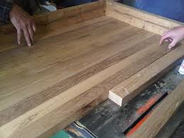 Diy Kitchen Countertops Ideas Remodelaholic Country Kitchen With Diy Reclaimed Wood Countertop