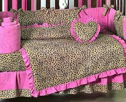 Animal Print Crib Bedding Sets 9 Best Cheetah Print Crib Bedding Images On Pinterest Kid Rooms