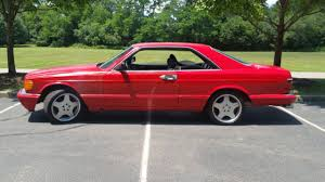 mercedes s class 1986 1986 mercedes 560sec s class fuel injected coupe for sale