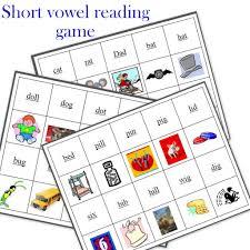 Printable Short Vowel Worksheets My Phonics Reading Game