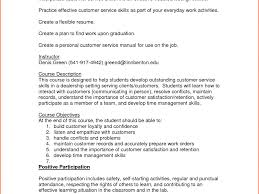 Resume Writing Workshop Objectives by Stunning Design Ideas Customer Service Resume Skills 12 Customer