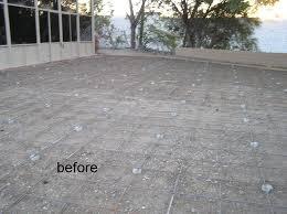 backyard renovations decorative concrete