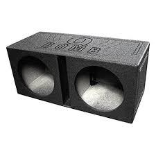 amazon car stereo black friday subwoofer boxes u0026 enclosures amazon com