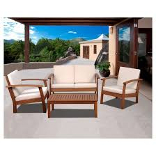 Wood Patio Furniture Sets Wood Patio Set Awesome Patio Furniture For Wrought Iron Patio