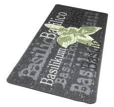 läufer für küche küchenläufer basilikum basilico design 67x180 cm teppich läufer