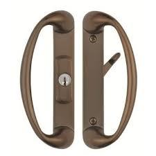 Sliding Glass Patio Door Hardware Cambridge Sliding Glass Door Handle With Center Keylock Durable