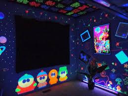 Black Light Bedrooms Blacklight Room Search Interior Design Pinterest