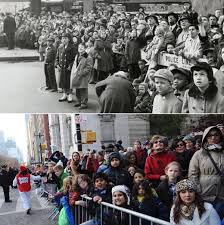 macy s thanksgiving day parade then and now