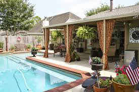Outdoor Patio Curtain Life By The Pool It U0027s Just Better Outdoor Patio Curtains Update