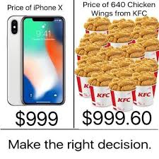 11 stupid things you could buy for 999 instead of the iphone x