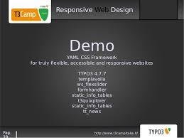responsive design typo3 responsive design con typo3 t3c italia 2012 bologna