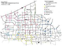 map plano concept of operations for the us 75 integrated corridor in dallas