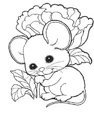 cute mouse rat baby coloring pages bulk color