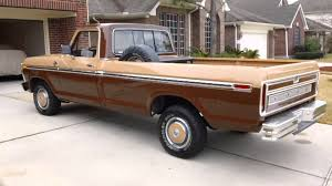 Classic Ford Truck Beds - 1977 ford f 150 with magnaflow start up u0026 walk around youtube