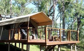 sydney the hills treetops sydney the ten best glamping spots near sydney concrete playground
