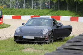 paul walker porsche model porsche 911 turbo facelift prototype crashes on the nurburgring