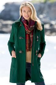 hooded wool toggle coat chadwicks of boston