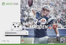 amazon black friday 2k17 madden microsoft xbox one s 1tb madden nfl 17 console bundle with 4k