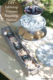 How To Make A Table Fire Pit - diy tabletop s u0027mores roasting station game changer tabletop and