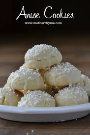 anise cookies mother thyme